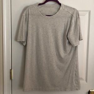 Men's Grey lulu 5 year shirt